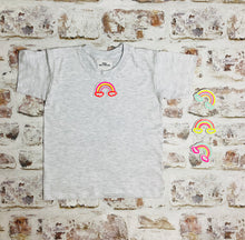 Load image into Gallery viewer, Children's Neon Rainbow t-shirt