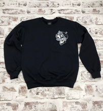 Load image into Gallery viewer, Smoking Skull sweatshirt - Unisex