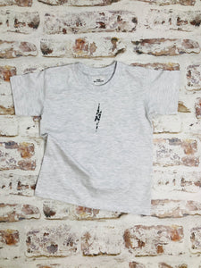 Children's Animal print lightning bolt t-shirt - unisex