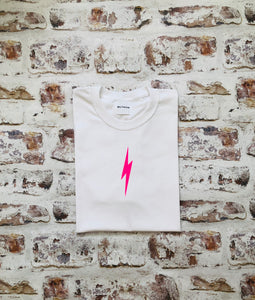 Neon lightning bolt t-shirt