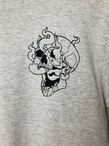 Smoking Skull t-shirt