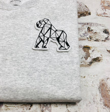 Load image into Gallery viewer, Origami Gorilla sweatshirt - Unisex - Handmade