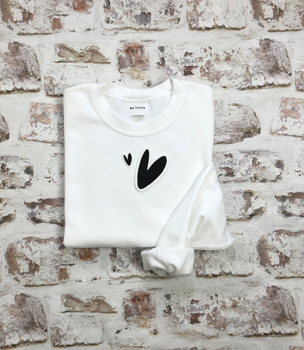 Abstract Hearts sweatshirt
