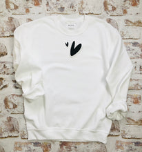 Load image into Gallery viewer, Abstract Hearts sweatshirt