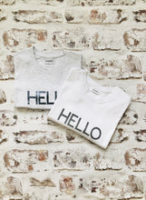 Load image into Gallery viewer, Large HELLO t-shirt