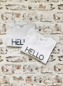 Large HELLO t-shirt