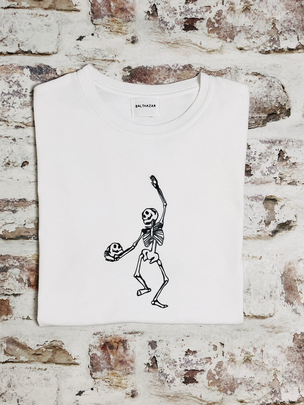 Dancing skeleton t-shirt - Unisex -