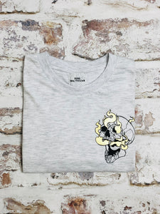 Children's Smoking skull t-shirt