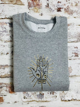 Load image into Gallery viewer, Personalised Palm  sweatshirt - Celestial Zodiac