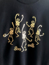 Load image into Gallery viewer, Skeleton Dance party sweatshirt - Metallic special edition