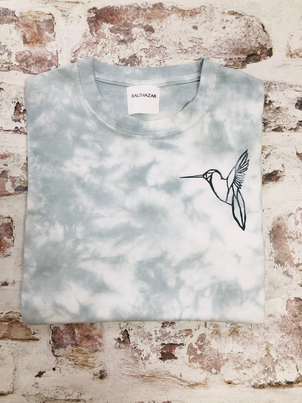 Tie-dyed Hummingbird t-shirt - Special edition