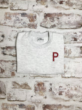 Load image into Gallery viewer, Children's Varsity style Initial sweatshirt