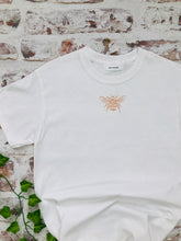 Load image into Gallery viewer, Custom Vinyl Bee T-shirt