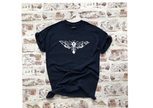 Load image into Gallery viewer, The Moth t-shirt - Unisex tattoo design
