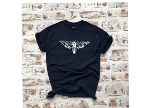 The Moth t-shirt - Unisex tattoo design