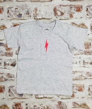 Load image into Gallery viewer, Children's Neon lightning bolt t-shirt - unisex