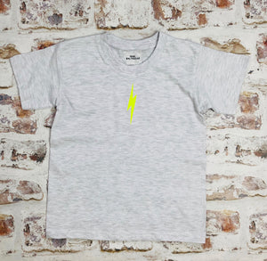 Children's Neon lightning bolt t-shirt - unisex