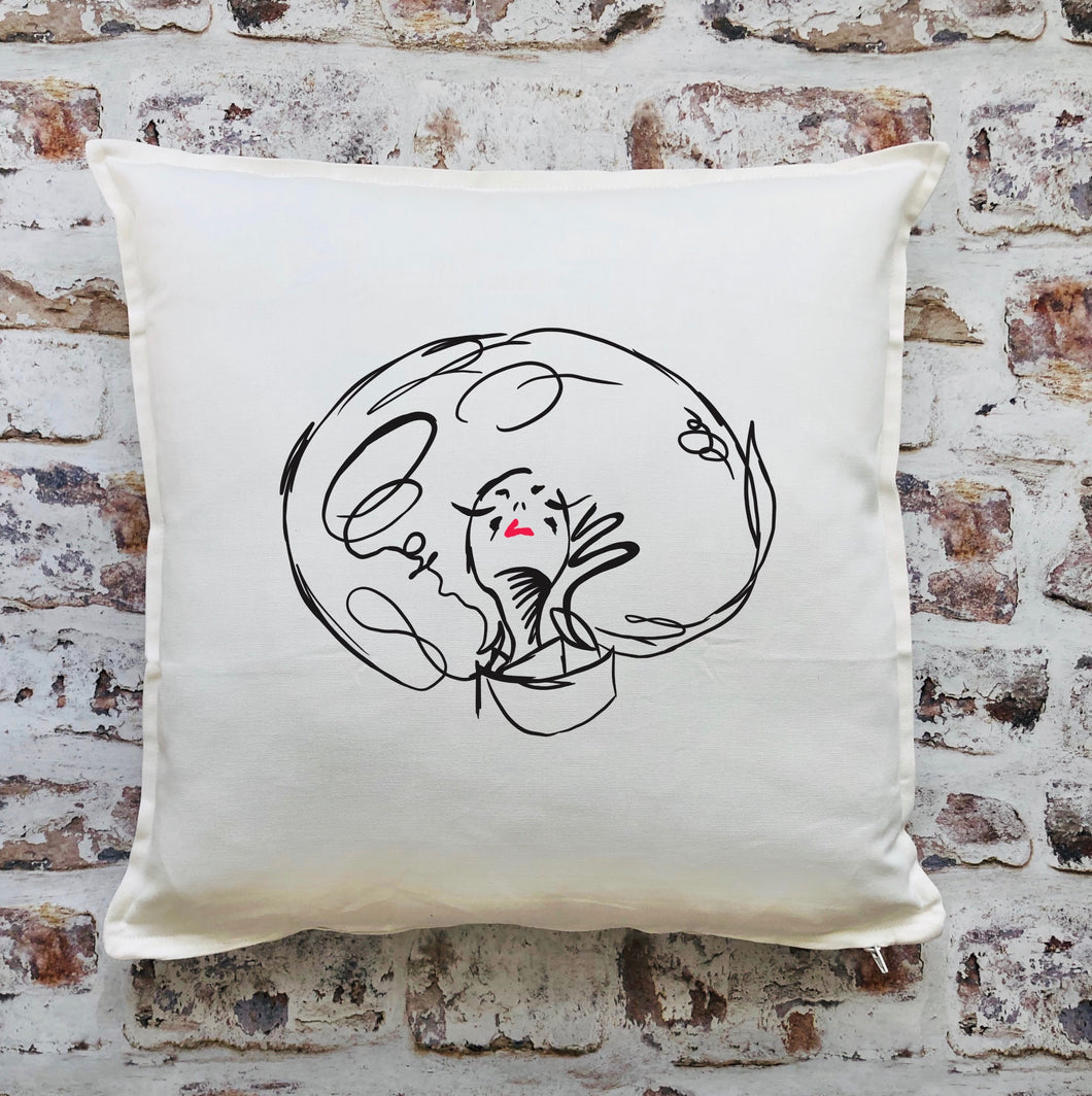 Doll head cushion