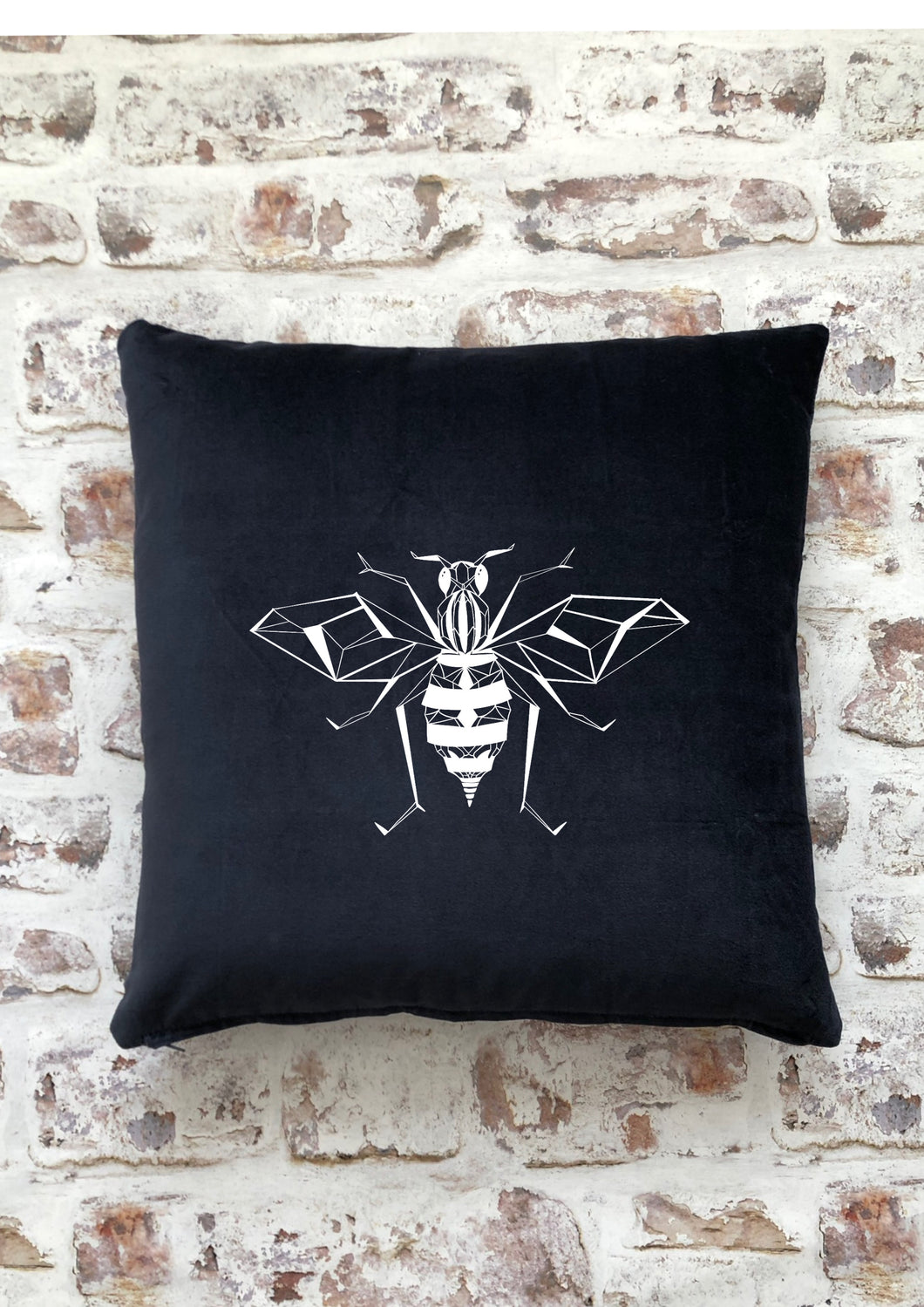 Graphic Bee cushion