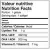 Valeur nutritive Natural n-3, oméga 3