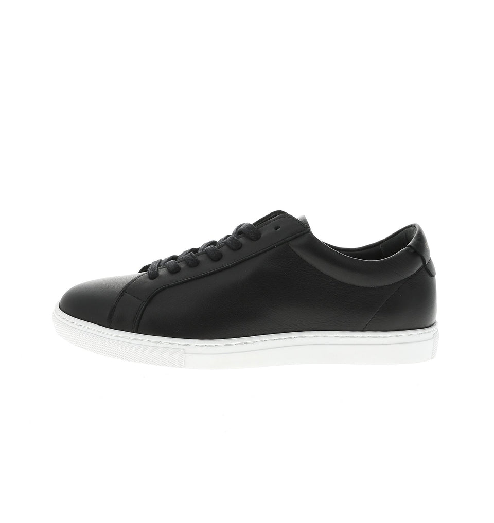 black men sneaker in genuine leather | camino 71
