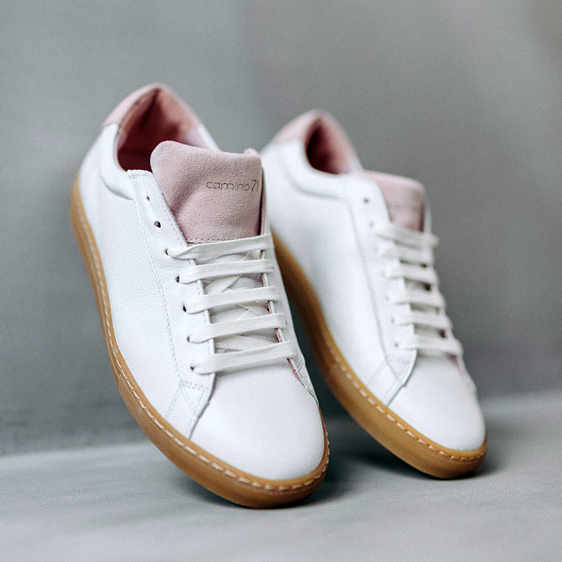 women white - rose leather sneaker | camino71