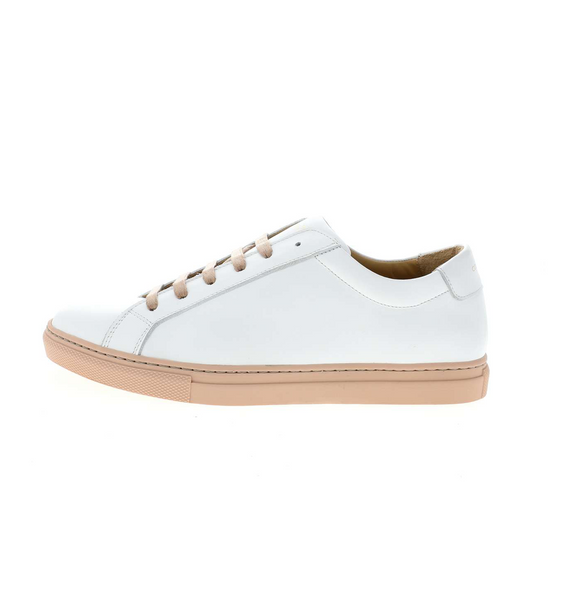 white women sneaker with nude outsole | camino71