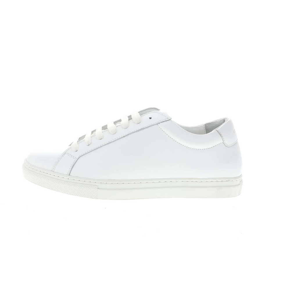 white leather sneaker women | camino71