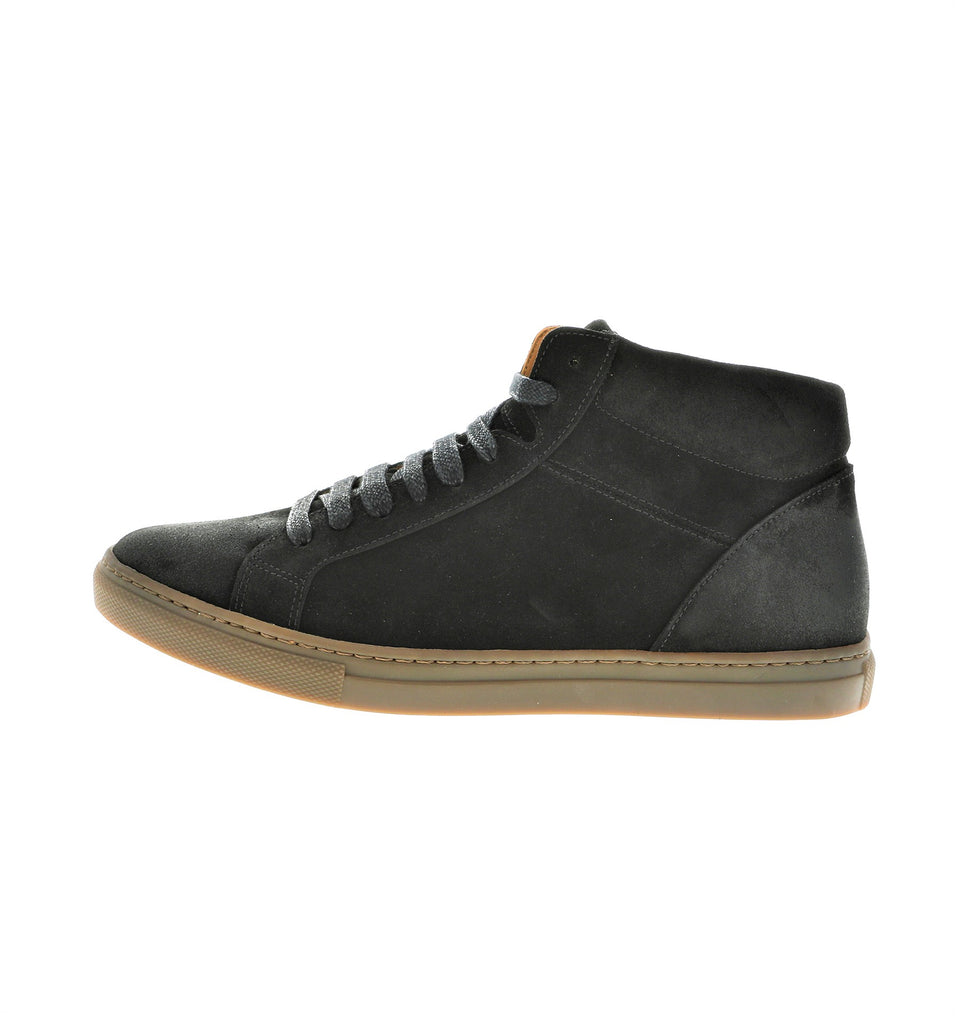 black men sneaker in suede leather | camino 71
