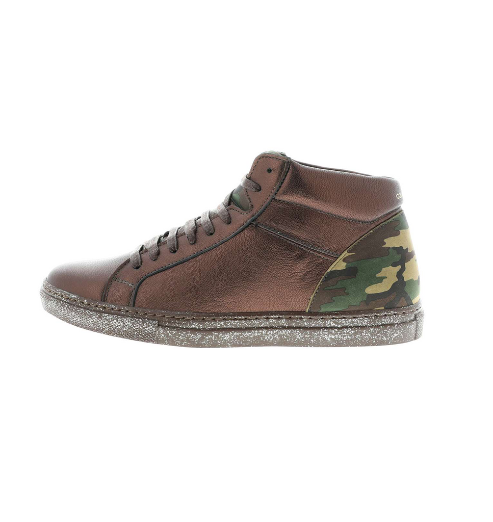 High brown_camouflage sneaker