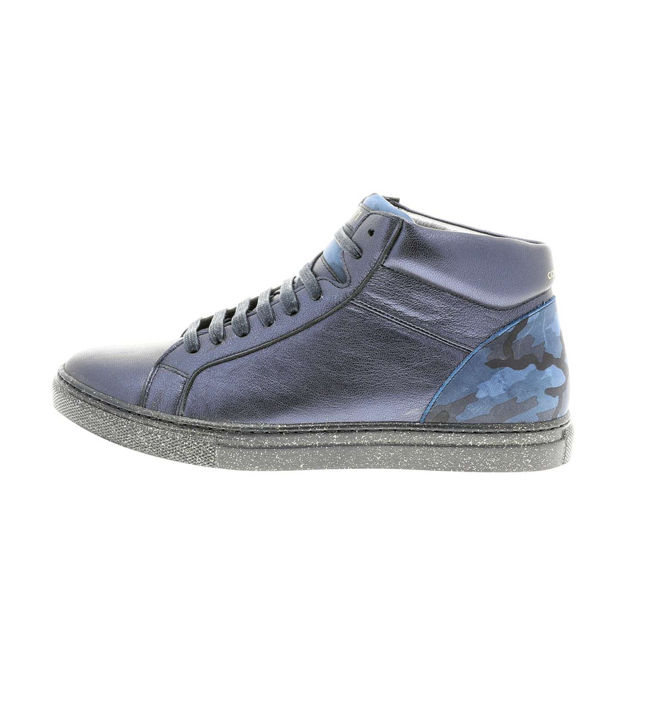 High navy_camouflage sneaker