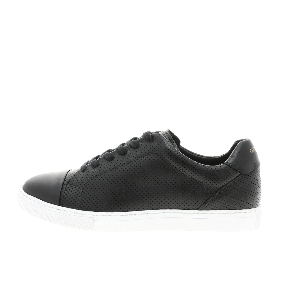 black perofrated women sneaker | camino 71