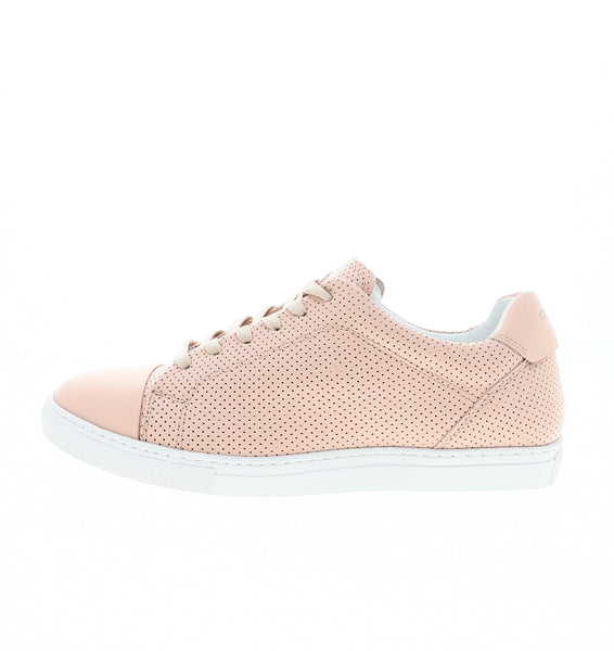 nude perforated women sneaker | camino 71