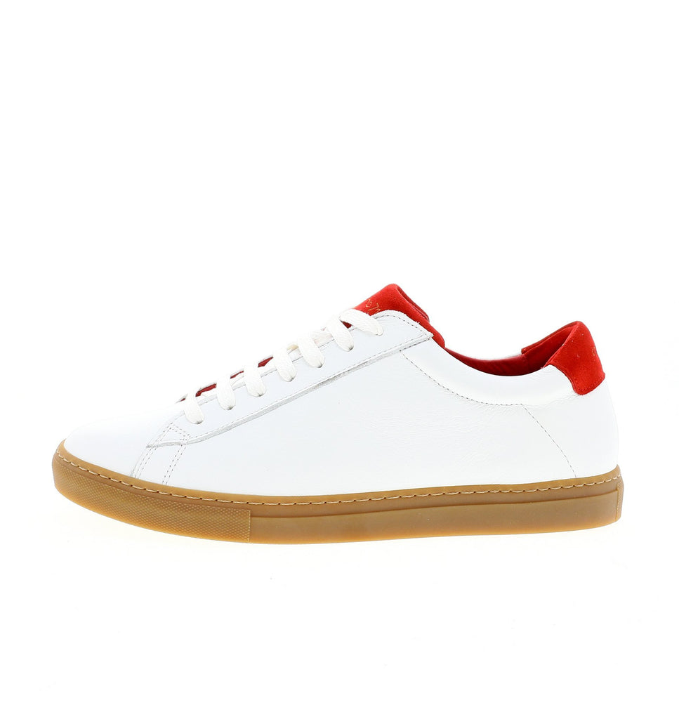white red women sneaker | camino 71