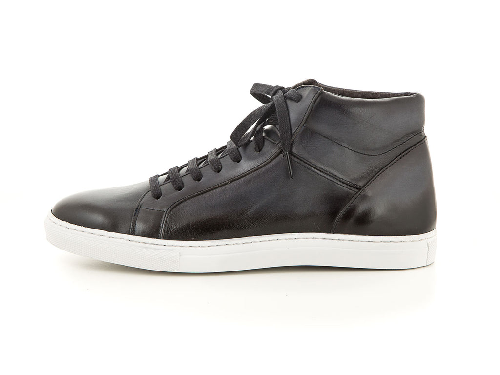 Black high sneakers men | camino 71