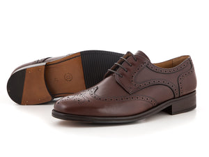 Business leather shoes for men cognac wedding | camino71