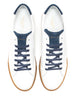 sporty white leather sneaker handmade | camino71