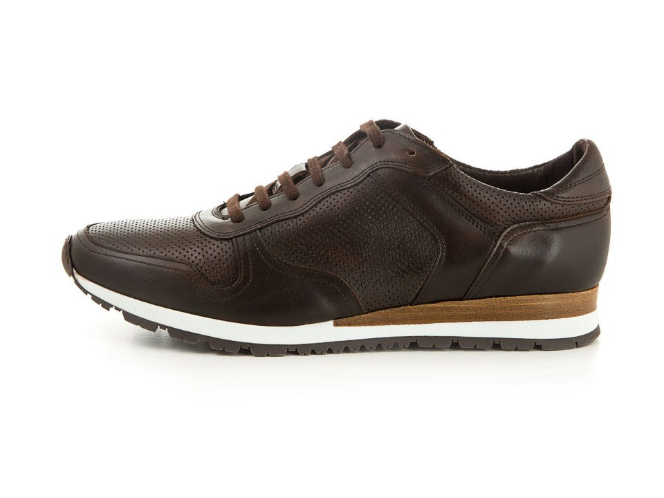 Men's shoes made of soft leather brown | camino71