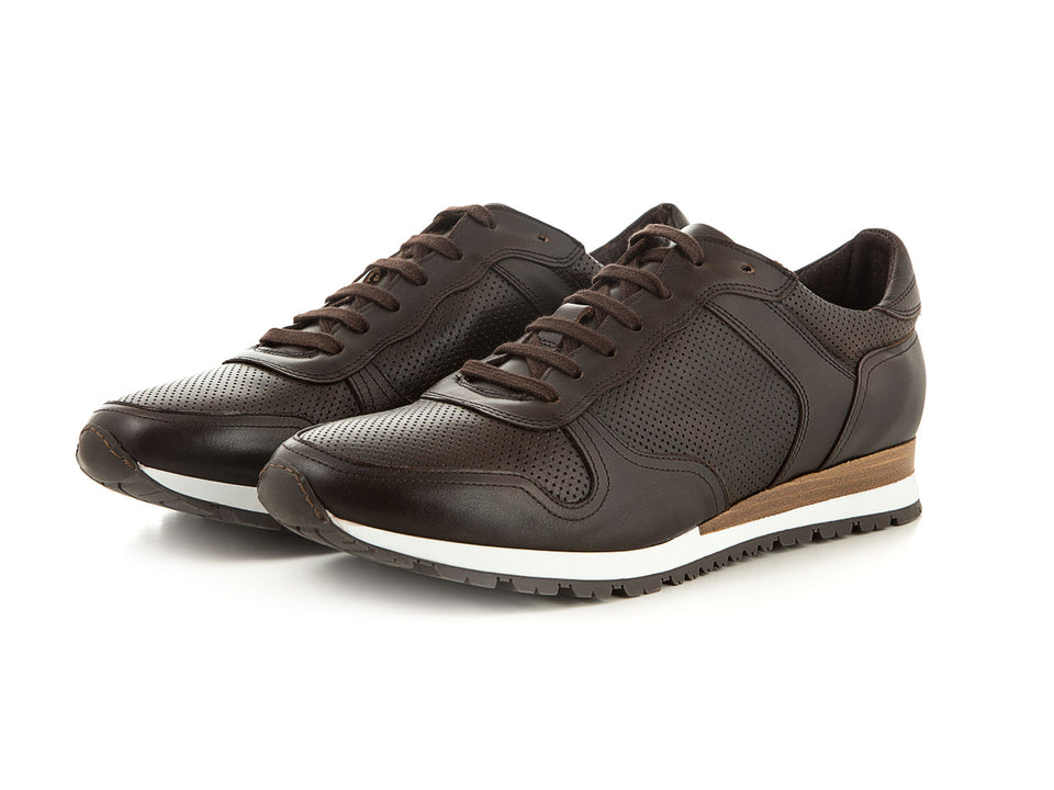 Men's shoes made of soft leather brown business | camino71