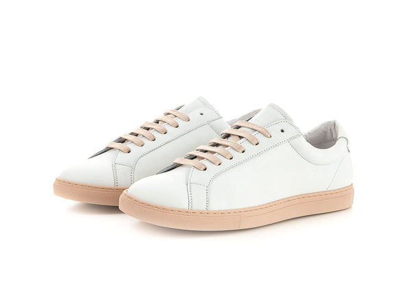 Handmade women's leather sneaker summer | camino71