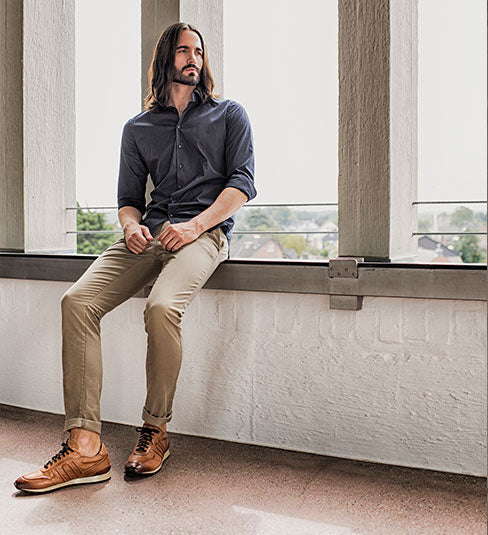 Elegant men's shoes made of soft leather business | camino71