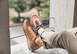 Elegant men's shoes high-quality soft leather | camino71