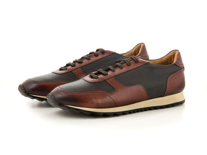 Elegant men's sneaker made of soft leather | camino71