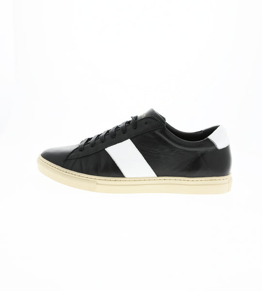 Low stripe black/white sneaker | camino71