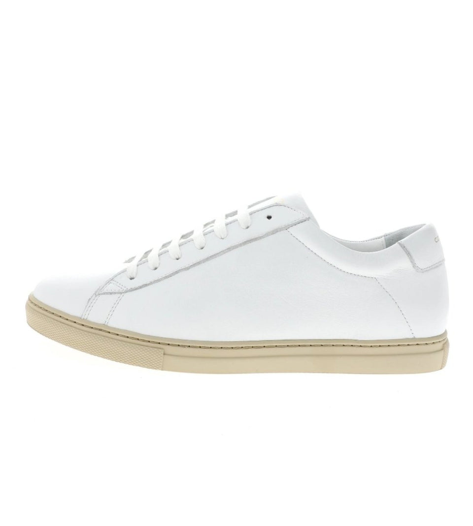 white leather sneaker | camino 71