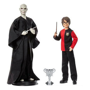 Sats med figurer Harry Potter vs Voldemort Mattel