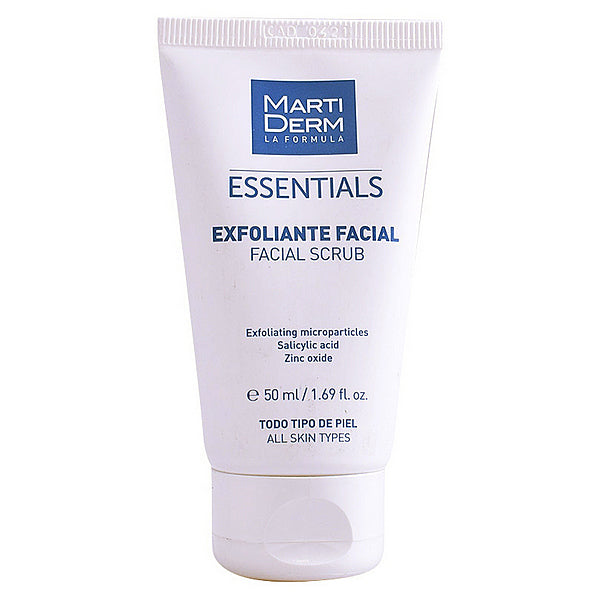 Ansiktsskrubb Essentials Martiderm (50 ml)