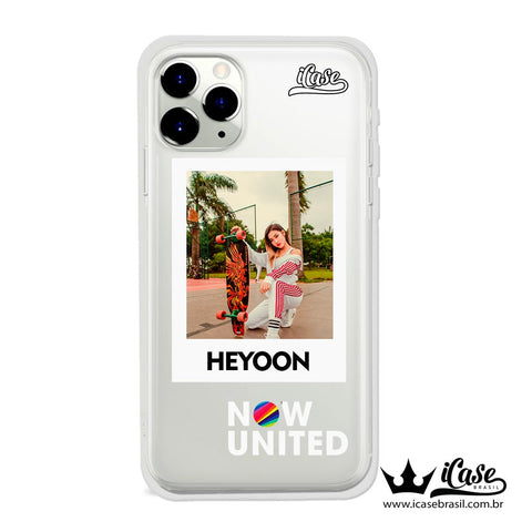 Capinha Now United - Membros -  Heyoon - 1