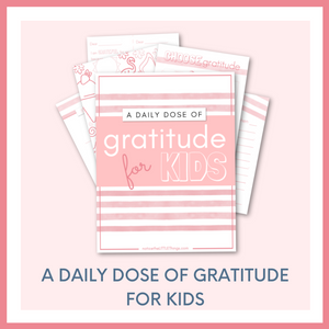 A DAILY DOSE OF GRATITUDE for KIDS - PINK