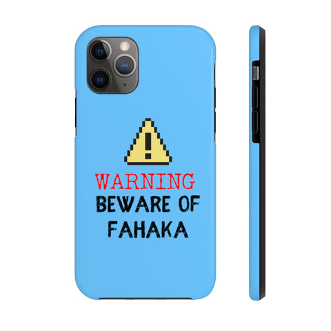 Warning! Beware Fahaka Puffer Case Mate Tough Phone Case